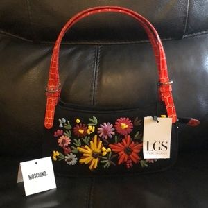 Moschino Bags - Moschino Floral Flame Bag